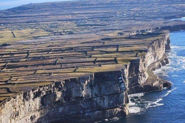 Каменные стены Ирландии. - Путешествуем вместе