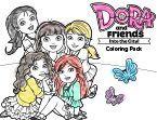 Dora Friends Coloring Pack