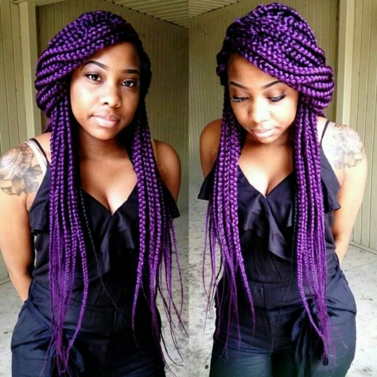 I love these box braids. I might try them for the new year!
