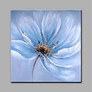 Håndmalte+Blomstret/Botanisk+Moderne+Et+Panel+Lerret+Hang+malte+oljemaleri+For+Hjem+Dekor+–+NOK+kr.+947