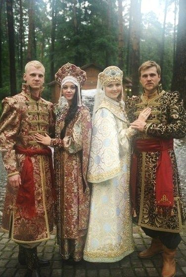 Russian Couples...Under self autonomy tribes flourish. Under globalism people become zombies used like pieces of meat and wage slaves.