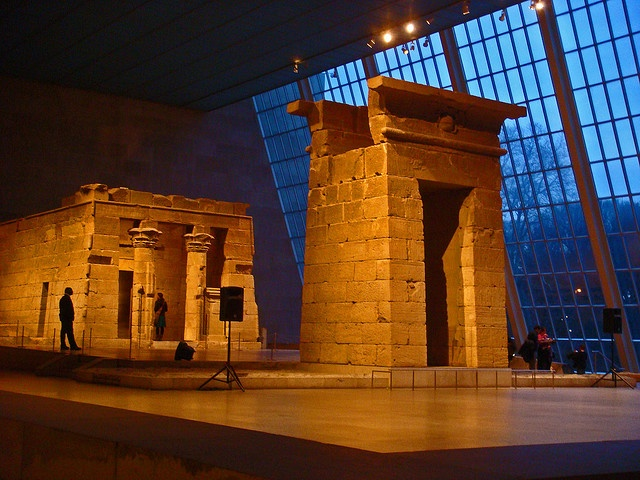 The Temple of Dendur - Metropolitan Museum of Art - New York City