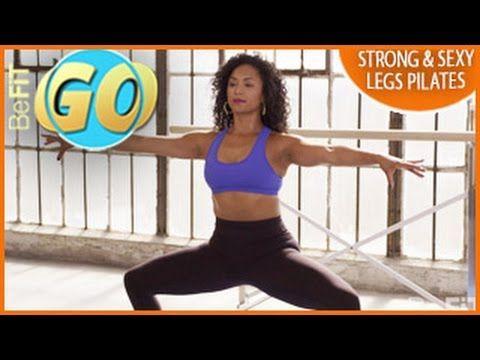 Pilates - Pernas Fortes e Sexy! -é a rotina de pilates proposta pela equipa GO Be Fit.Composto por uma série de exercícios de pilates com o objectivo de tornas as suas pernas mais fortes; sexy, tonificadas e esculpidas.