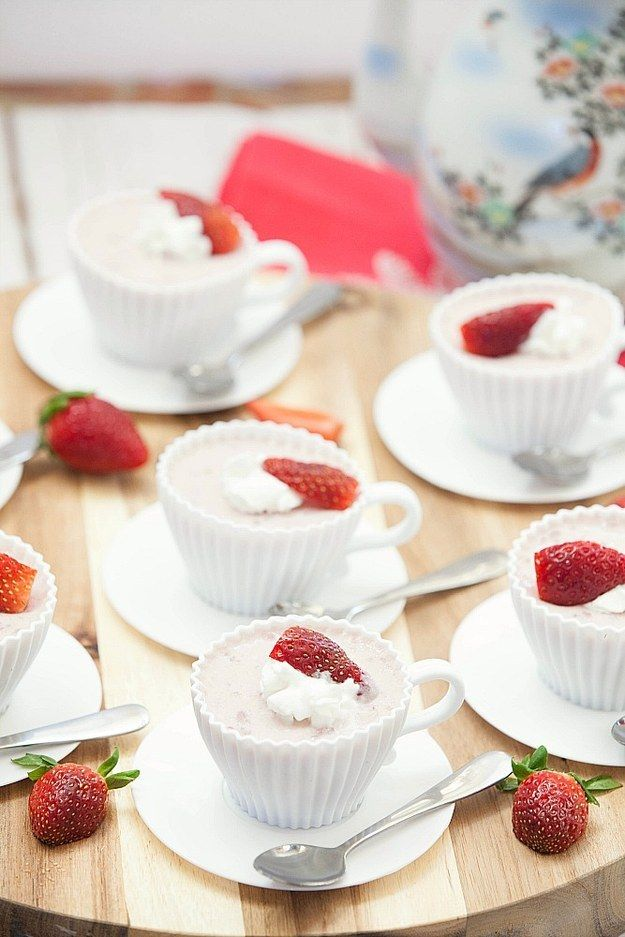 Strawberry Mousse | Community Post: 15 Delicious Strawberry Desserts You Should Eat ASAP