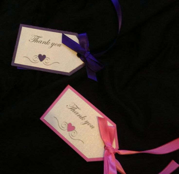 Gift tags x