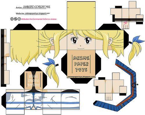 fairy tail papercraft erza | fairy tail par remyla: paper toys fairy tail