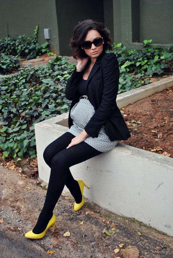 | Zara Blazer | Mango Tee | Forever New Skirt | Aldo Heels | Maternity Wear | Third Trimester | Fashion Blog | Up.Fashioned |