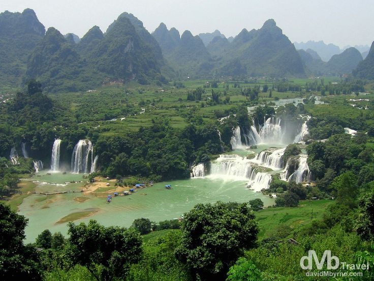 Detian Falls, China/Vietnam Border | dMb Travel - Travel with davidMbyrne.com