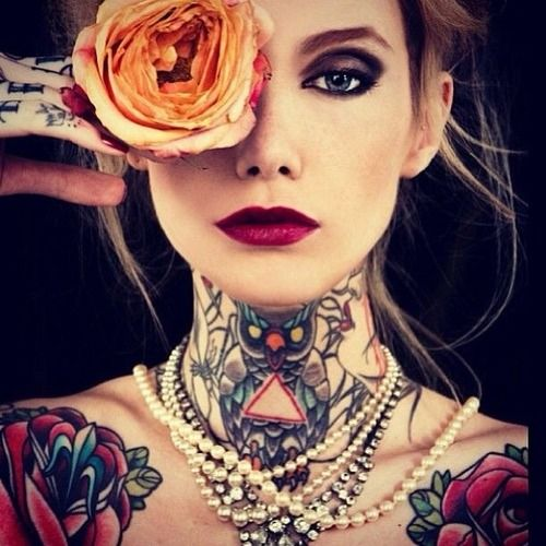 Girls with tattoos tumblr tattoos pinterest beautiful ink tattoos and ink - Gorgeous girls on tumblr ...