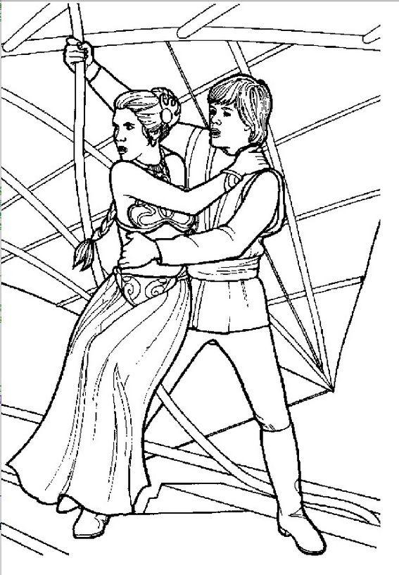 Princess Leia Organa Coloring Sheet Star Coloring Pages Star Wars Coloring Book Star Wars Colors