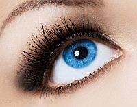 Make your blue eyes stand out with a smokey shadow. Visit Beauty.com to find makeup for your blue eyes.