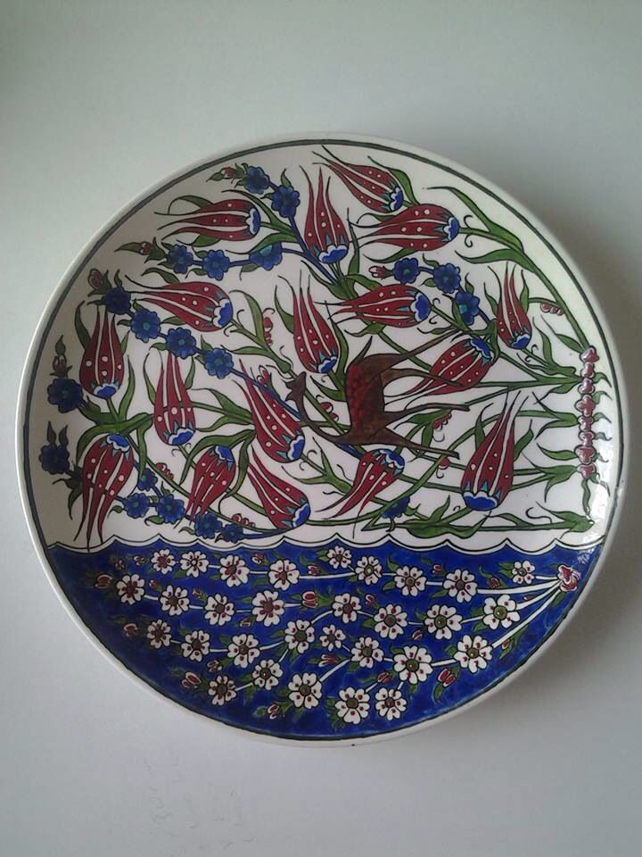 Turkish Tile Art Plate