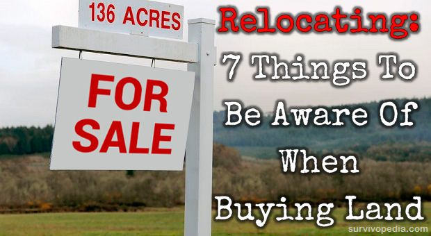 Relocating: 7 Things To Be Aware Of When Buying Land