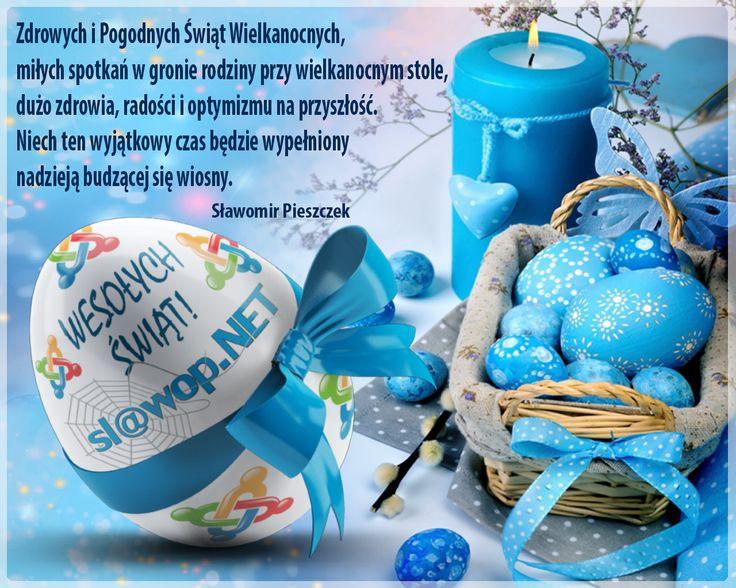 Zdrowych i Pogodnych Świąt Wielkanocnych :-) http://www.slawop.net/promocja-wielkanocna