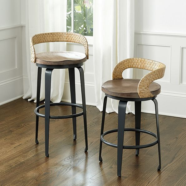 Trevisa Stools With Images Slipcovers For Chairs Counter Stools