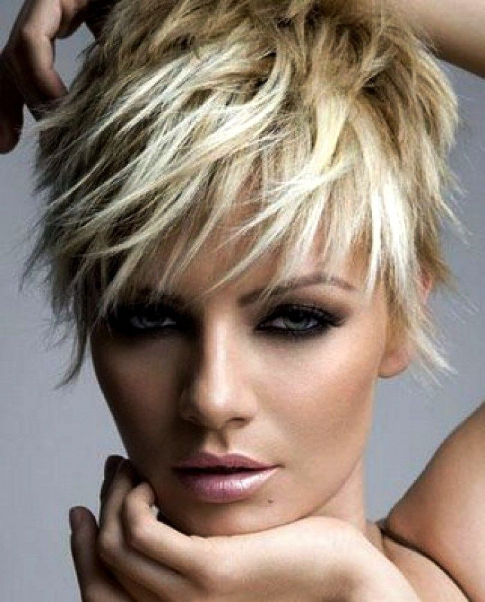 25 Short Spiky Haircuts 2018 Hair Pinterest Short Hair Styles