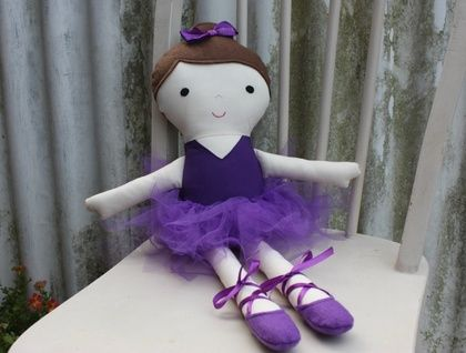 Fabric Ballerina Doll