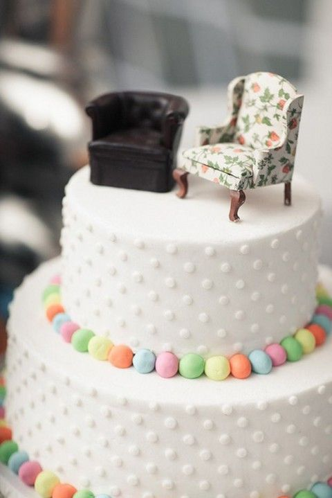 71 Unique Wedding Cake Toppers | HappyWedd.com