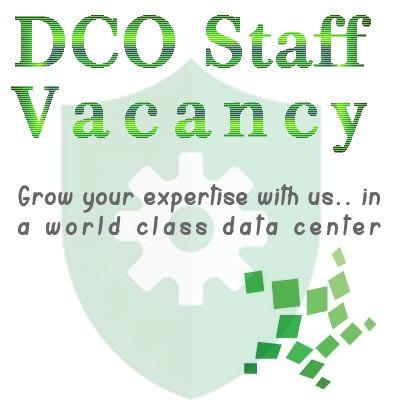 Saatnya bergabung dan menambah keahlian anda dalam dunia IT pada sebuah fasiltas World Class Data Center di Indonesia.