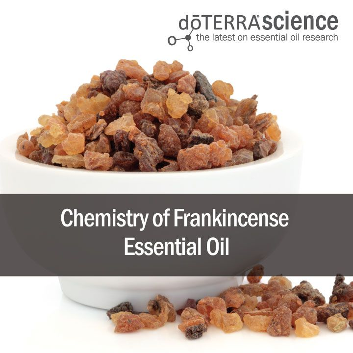 Chemistry of Frankincense Essential Oil