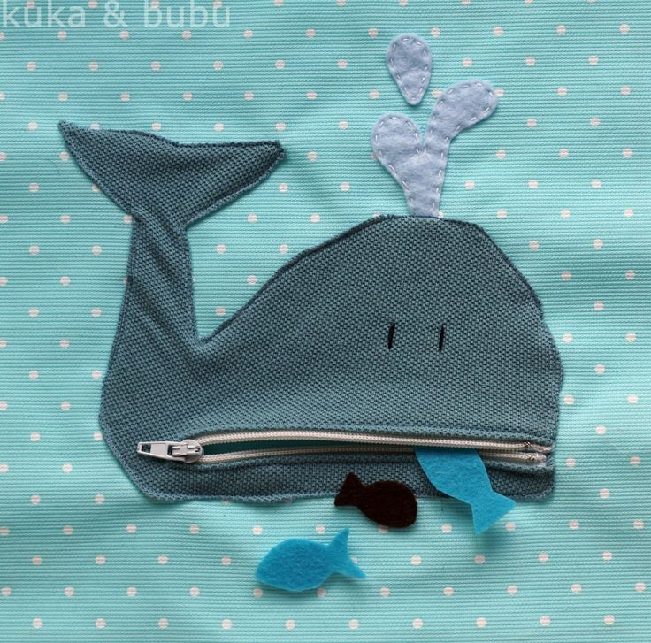 "Quiet book page - this post has some really cute page ideas. Add a little ""Jonah"" man to the whale page!"