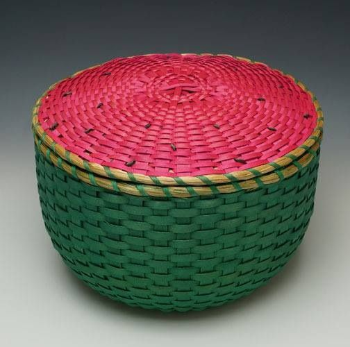 Watermelon Basket by Rocky Keezer