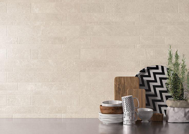 Milestone collection by Emilceramica  #emilgroup #tiles #ceramics #walltiles #surfaces #interiordesign #madeinitaly  #stoneinspiration #stoneeffect  #white #listelli  #modern #contemporary #classical #minimal  #livingroom #home #outdoor