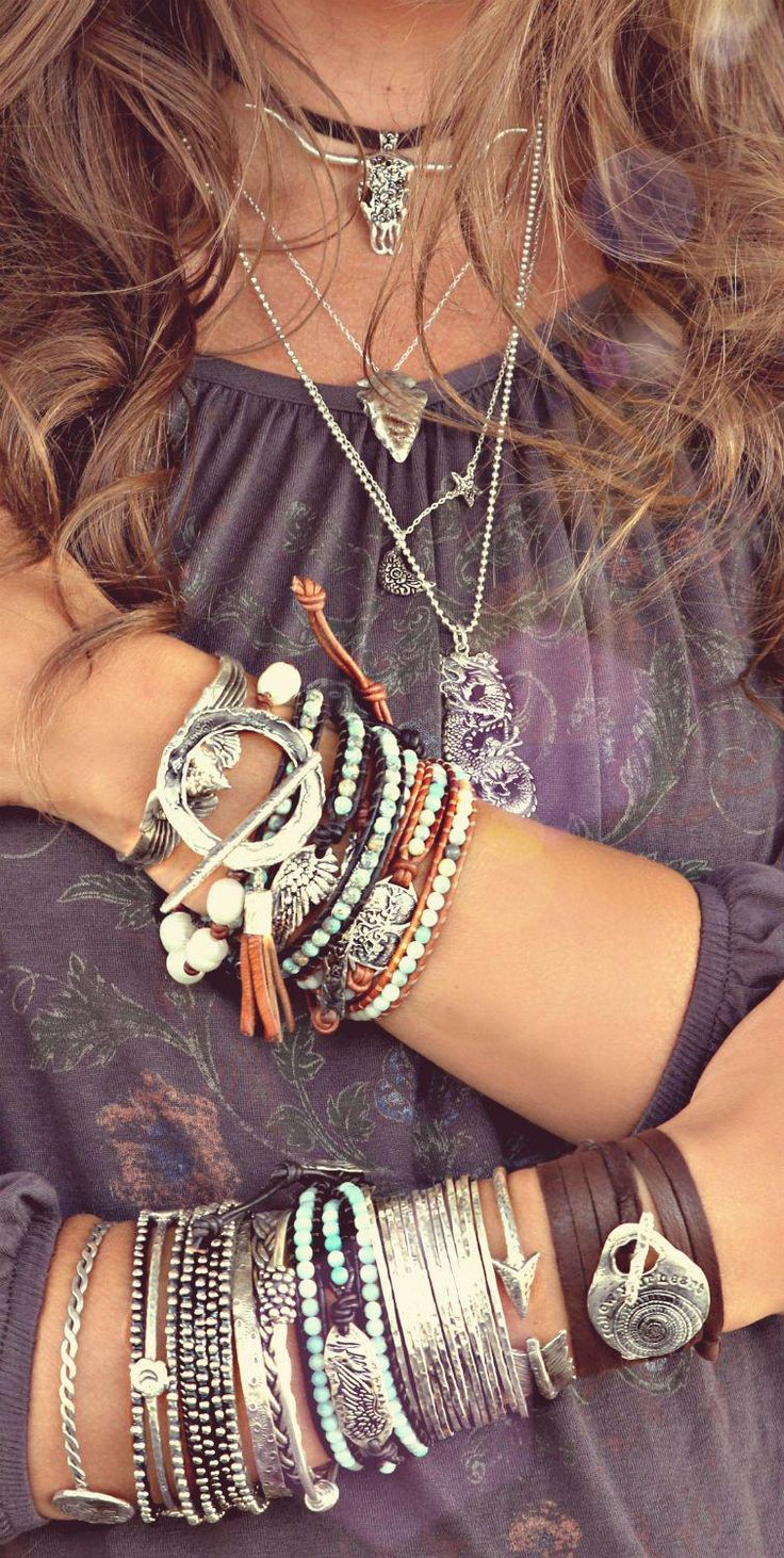 Comprehensive Bohemian Style Interiors Guide To Use In: Crushing On HappyGoLicky Stacking Bracelets For A Boho
