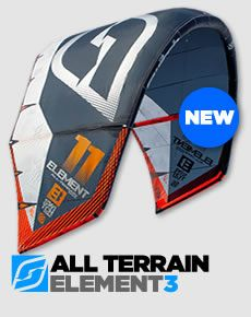 Product Launch - Element3 All terrain kite.
