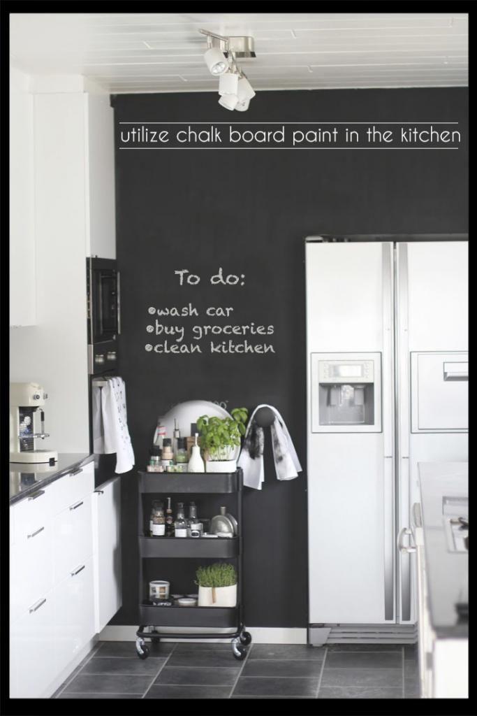 kitchen chalk board paint www.cocoweb.com