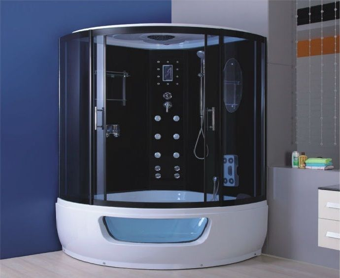 tronitechnik dampfdusche whirlpool duschtempel badewanne wanne duschkabine eckbadewanen. Black Bedroom Furniture Sets. Home Design Ideas