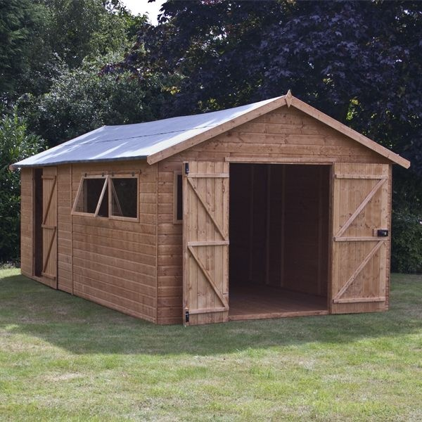 Perfect Garden Sheds Jedburgh X 10 Waltons Groundsman Tongue And Groove Apex Modular Workshop Wooden Storage For Design