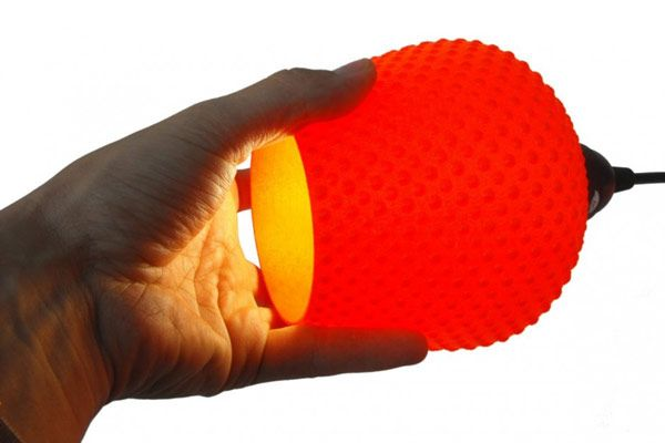 elegant lampshades 8 Modern and Elegant 3D Printed Lampshades: Dentelle by Samuel Bernier