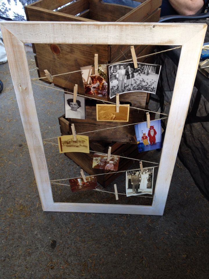 Picture Display Frame by recirclematter on Etsy