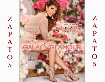 Nuevo Catalogo Cklass Gala & Glamour PV/2018 Mexico y USA. Aquí encontraras gran variedad de zapatos para fiestas y celebraciones. Hay calzado de mujer de todos los colores y modelos. Edición digital de Gala y Glamor Cklass Primavera Verano 2018