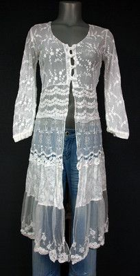It would probably make me look like a crazy lady, but I love the lace