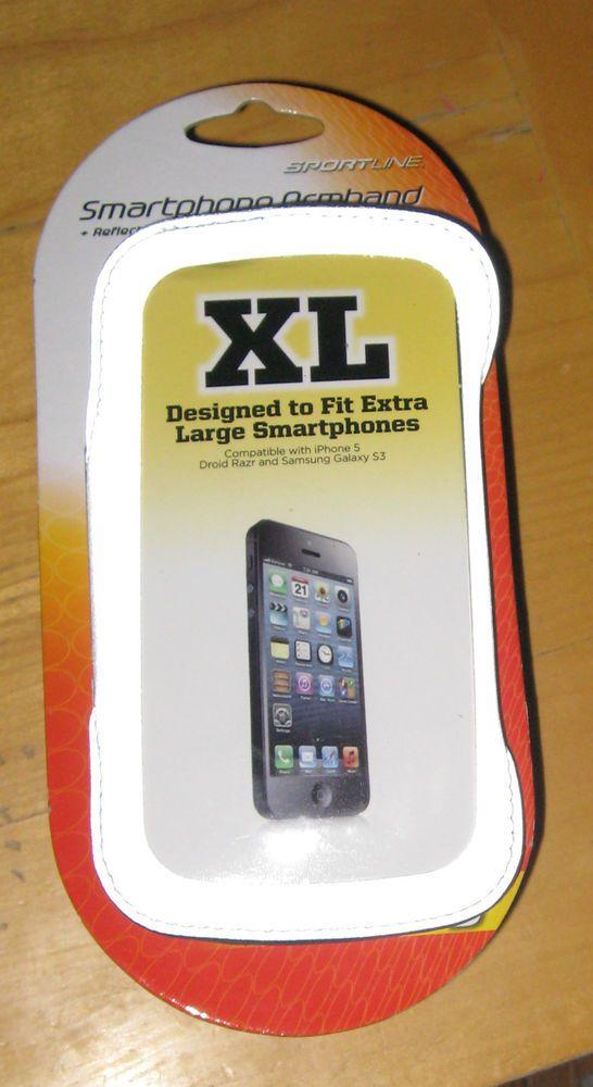 Sportline Smart Phone Holder Armband, Extra Large~ Great for jogging and more! #SportLine