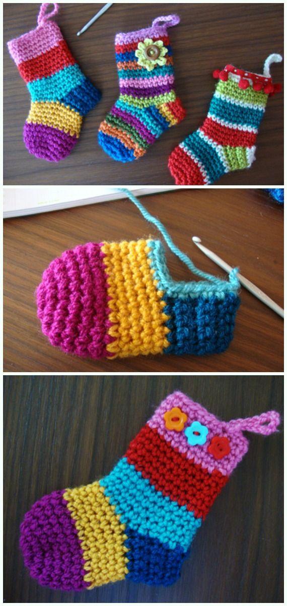 30 Diy Crochet Christmas Ornament Free Patterns Crochet And