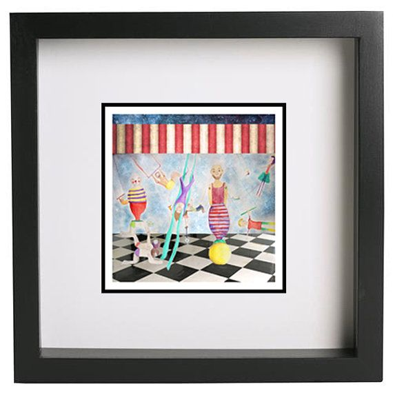 2121 cm Square Poster Art print A4 poster by NataliesWunderland