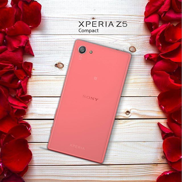 Sony Xperia Z5 compact red coral
