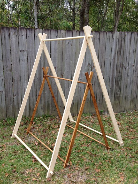 4 Foot and 6 Foot AFrame Tent Frames by SewUs on Etsy