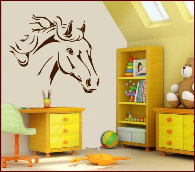 Trend Wandtattoo Pferd Wandtattoo PferdWandtattoo KinderzimmerPferde
