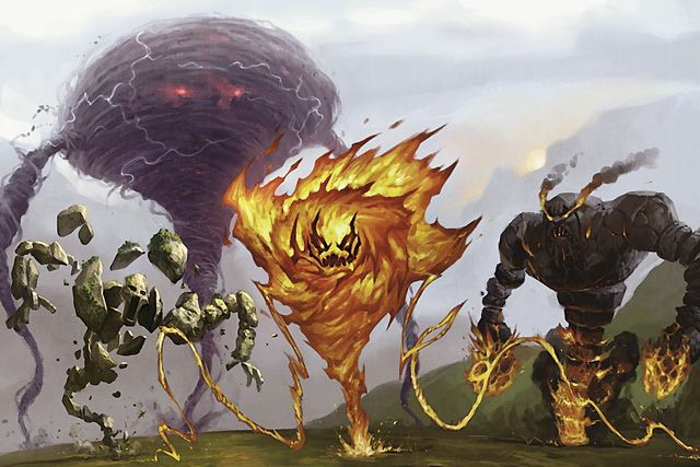 Forgotten Realms - Elementals