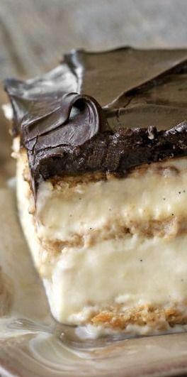 No-bake chocolate eclair cake - Everyday Dishes & DIY