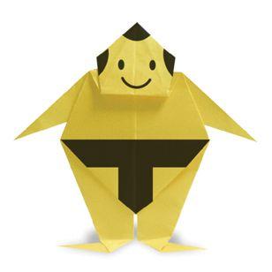 Sumo Wrestler Origami