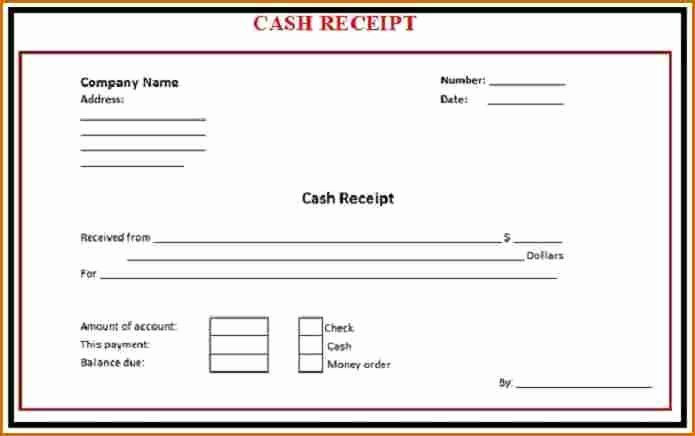 Simple Cash Receipt Template Best Of 8 Cash Receipt Template Word Invoice Template Word Receipt Template Word Template