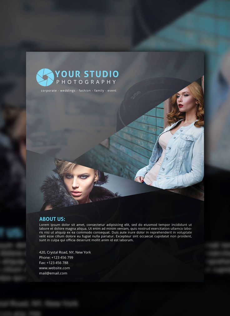 Best Photography Flyers Images On   Photography Flyer