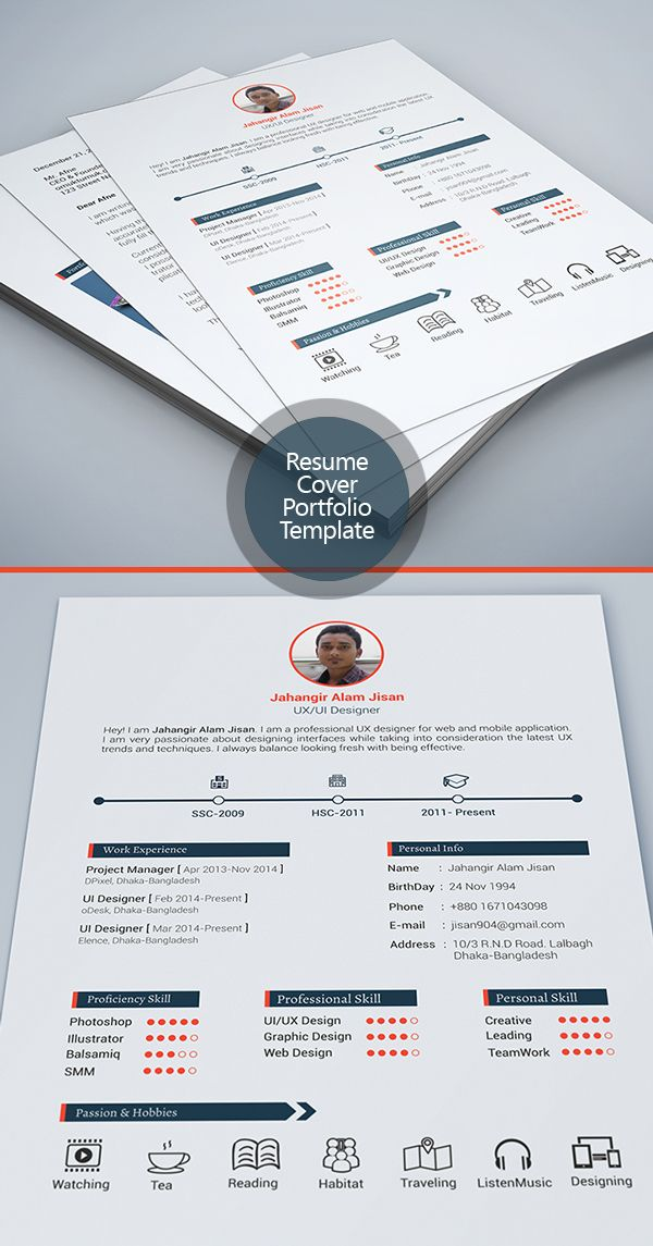 63 best resume images on Pinterest Plants, Creative design and Draw - cover letter designs