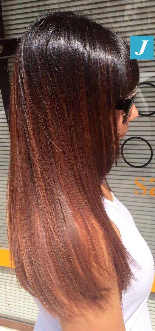 Capelli lucidi, sani, senza eccessi di colorazione...tutto questo è il Degradé Joelle! #cdj #degradejoelle #tagliopuntearia #degradé #igers #musthave #hair #hairstyle #haircolour #longhair #ootd #hairfashion #madeinitaly #wellastudionyc