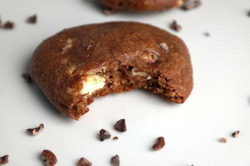 Sjokoladekjeks med hvit sjokolade